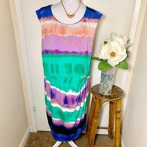 Calvin Klein Multicolored Dress